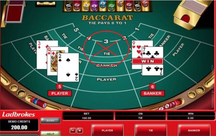 Parlay betting ties in baccarat ipl betting tips for today match